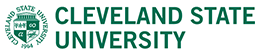 Cleveland State University's logotype with seal.