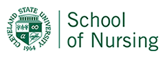 School of Nursing with CSU seal to left of text.