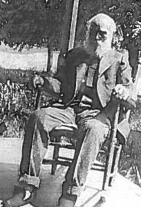 """Photograph of Andrew """"Jack"""" Chesnutt"""