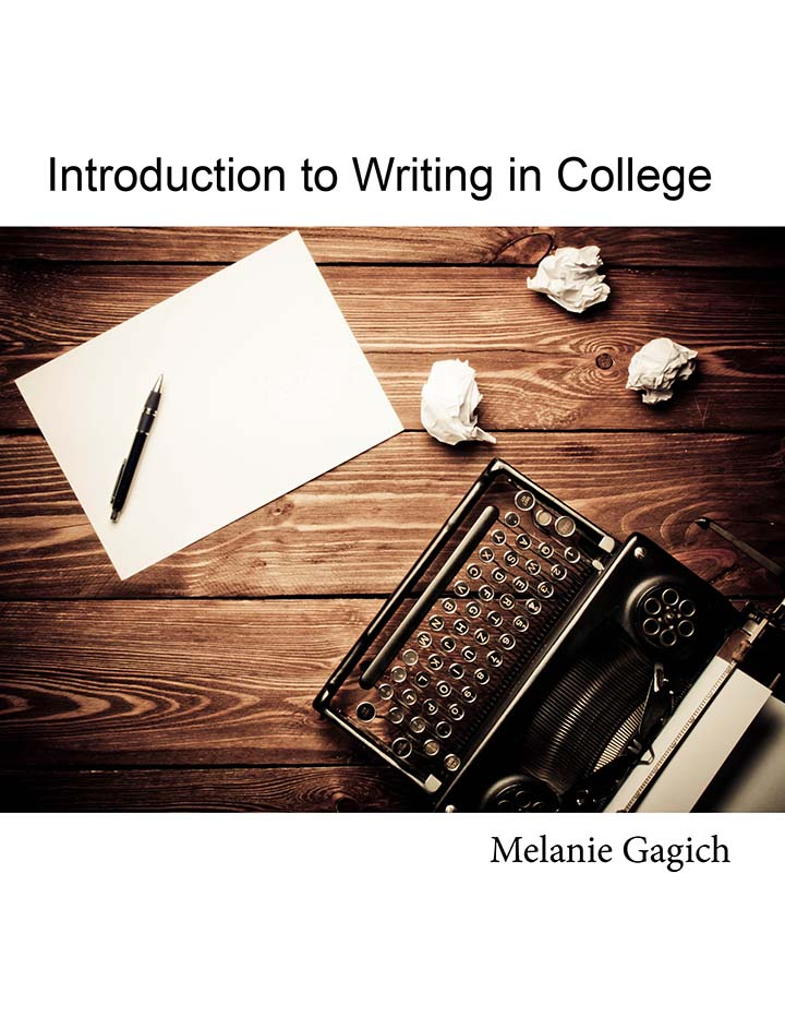 Cover image for Introduction to Writing in College