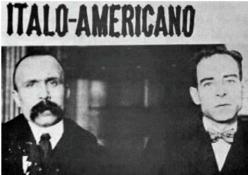 Nicola Sacco (right) Bartolomeo Vanzetti (left)