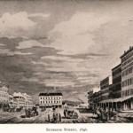Cleveland, Ohio: Superior Street, about 1846