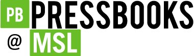 Logo for Pressbooks@MSL
