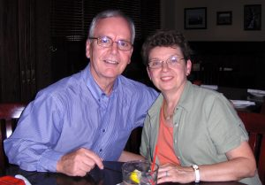 Bob McAuley and his wife, Trudy.