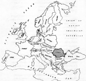 ROMANIA AND EUROPEAN COUNTRIES IN 1970