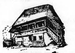 Romanian peasant house