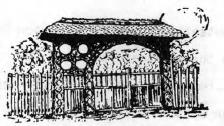 Transylvanian yard gate