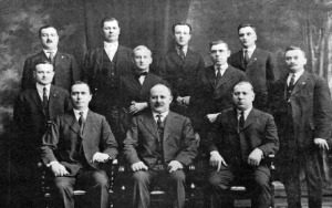 Editorial and Managing Board of the American Romanian Daily in the 1920's.