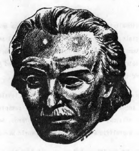 """Mihail Eminescu, Romania's greatest poet. (From """"The New Pioneer"""")"""