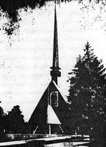 "St. Mary's Orthodox Church (From ""Calendarul AMERICA 1965"")"