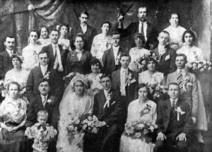 Typical Romanian Wedding in the 1920's