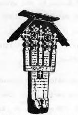 "Wayside Cross, ""Troitza"" in Romania."