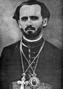 His Grace Bishop Mardary (Uskokovich): The first bishop of Serbian Eastern Orthodox Diocese for the United States and Canada and the founder of St. Sava Monastery, Libertyville, Illinois.