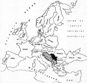 Republic of Serbia in 1970's Socialist federal Republic of Yugoslavia