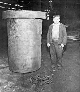 Lazo Simic: Steel mill worker.