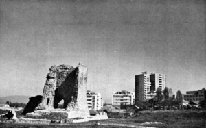 Fig. 25. Krusevac. The Remains of the 14th Century Fortifications. (Photo: L.D. Popovich, 1971).