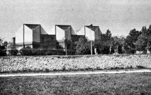 Fig. 33. Belgrade. Gallery of Modern Art, 20th Century. Architects: Iva Antic and Ivanka Raspopovic. (Photo: L.D. Popovich, 1969).