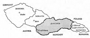 SLOVAKIA AS PART OF CZECHOSLOVAKIA In the years 1919-1938