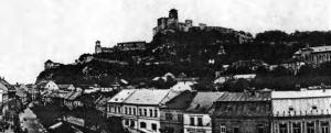 The extensive complex of the Trenčín Castle