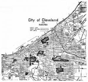 Cleveland, Indicating Slovak Centers