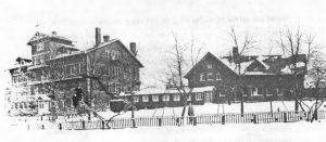 The first home of the Benedictine High School