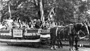 Parade in Cleveland (1920) (From Western Reserve Historical Society Collection)