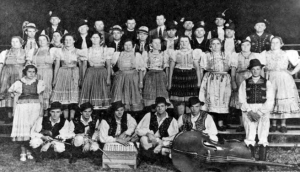 A Slovak-American Ensemble of Singers and Players (1920's) (from Western Reserve Historical Society Collection)