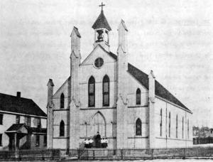 St. Ladislas First Church - parish house and pastor