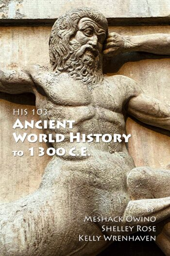 Cover image for HIS 103: Ancient World History to 1300 C.E.
